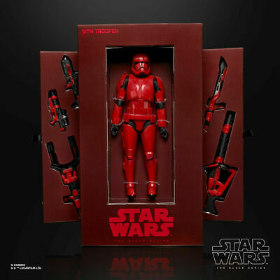 Sdcc 2019 Hasbro Exclusive Star Wars Black Series Red Sith Trooper-Early Release