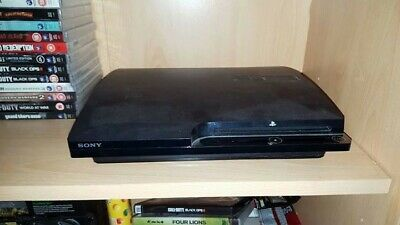 Sony PlayStation 3 Slim 120GB Charcoal Black + 60 Games