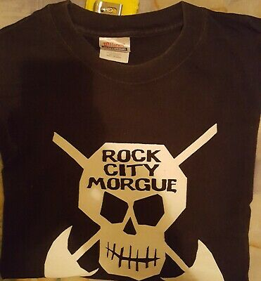 ROCK CITY MORGUE  SHIRT White Zombie,Sean Yseult,The Cramps,Misfits