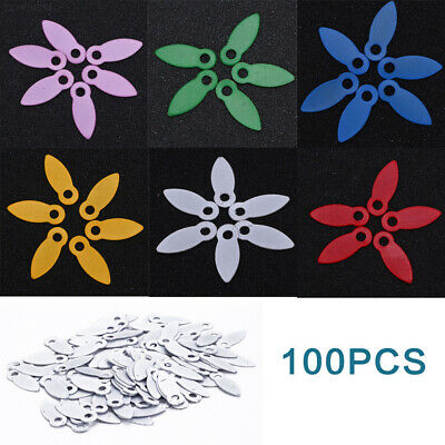77B0 5708 DIY 100PCS 17 * 7MM Rotating Brads Scrapbook Embellishments Decoration