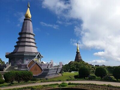 Tour to ticket from chiang mai to Inthanon National one day tour travel Thailand