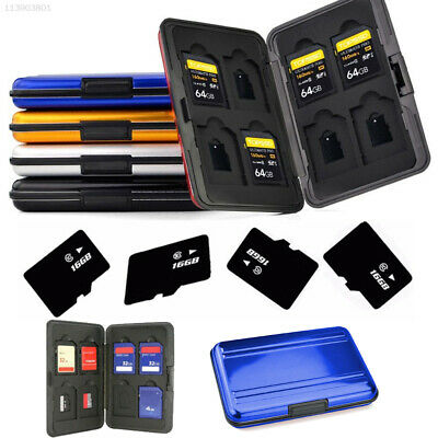 16A0 Micro SD Holder Memory Card Case NSB Durable Shockproof Portable Storage