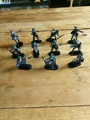 Joblot Britains 1971 11 X German Soldiers