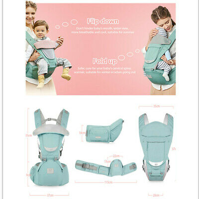 Baby Carrier Infant Sling Backpack HipSeat Newborn Waist Stool Front Seat *NEW*