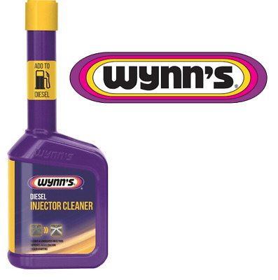 Wynn's Injector Cleaner for Diesel Engines - 325ml FREE Pair Of Nitrile Gloves