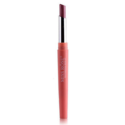 Miss Rose Double-End Lining Durable Waterproof Lip Liner Stick Pencil 07# N3F2