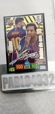 ADRENALYN XL 2018 2019 MESSI 10 BALÓN DE ORO FIRMADO   envio ordinario