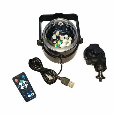 USB RGB LED Disco Ball DJ Party Light Effect Sound Activated Strobe Gift CC