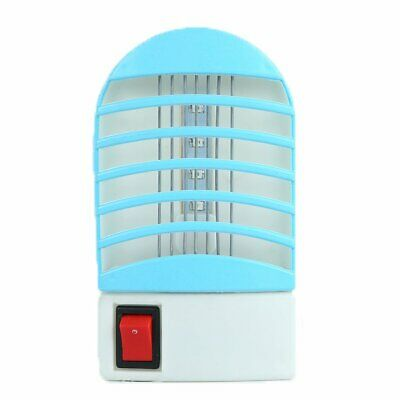 LED Socket Electric Mosquito Fly Bug Insect Trap Night Lamp Killer Zapper y