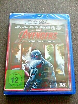 Marvel - Avengers  Age of Ultron - 2D / 3D Bluray