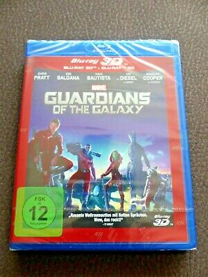 Marvel - Guardians of the Galaxy - 2D / 3D Bluray