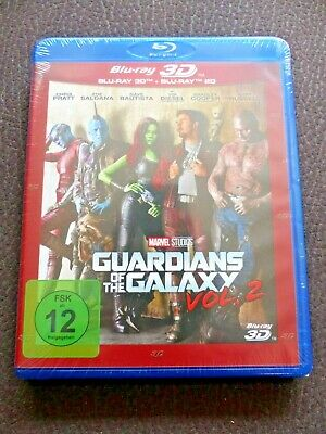 Marvel - Guardians of the Galaxy Vol 2 - 2D / 3D Bluray