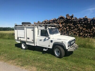 Land Rover Defender 130 single cab Heavy Duty Chassis, Great History. No reserve