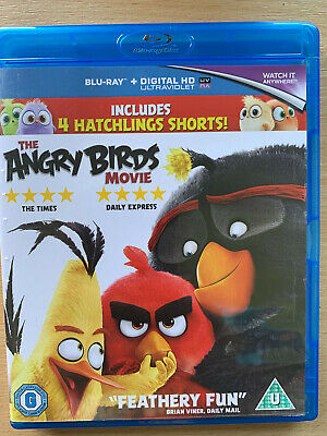 The Angry Birds Movie 2017 Animated Comedy Family Film UK Blu-ray