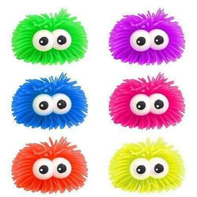 2x Bulging Eyes Kids Adults Stress Puffer Balls Squidgy Squeeze Play Sensory Toy