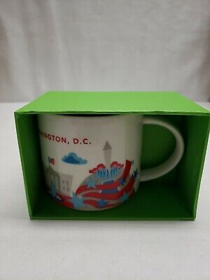 Starbucks WASHINGTON DC You Are Here Collection Mug