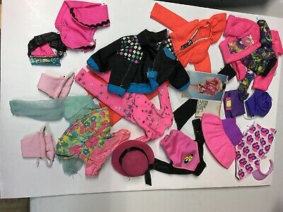 Assortment Vintage 1980's Stacie Barbie's Little Sister Clothes