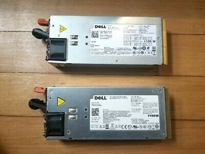 Lot 2 Dell PowerEdge T710 L1100A-S0 TCVRR 1100W Power Supply