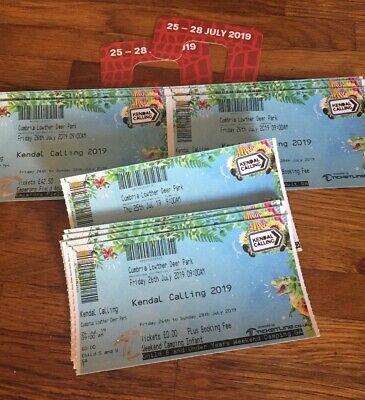 2Adult + 1 Child + 1 Infant Kendal Calling 2019 Emperors Field, Thurs+ Weekend