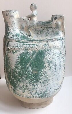 Roman ?  Egyptian ? Greek ? Ancient Askos Vessel - An Important Discovery - Rare
