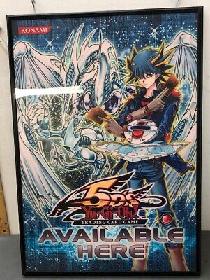 21x15 2008 Yu-Gi-Oh Collectable Trading Card Sign Stardust Dragon 5Ds Yusei Fudo