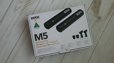 RODE M5 Matched Pair Cardioid Condenser Mics