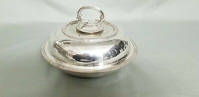 An Antique Silver Plated Tureen Dish By Mappin & Webb.very collectable.