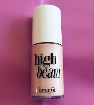 Genuine_New BENEFIT High Beam Satiny Pink Complexion Highlighter_mini 4ml