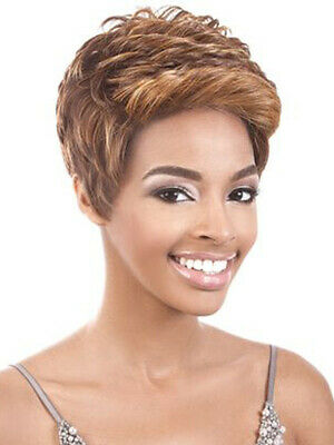 Beshe 2inch Deep Part Lace Front Wig - LACE 109 - SHORT PIXIE CUT