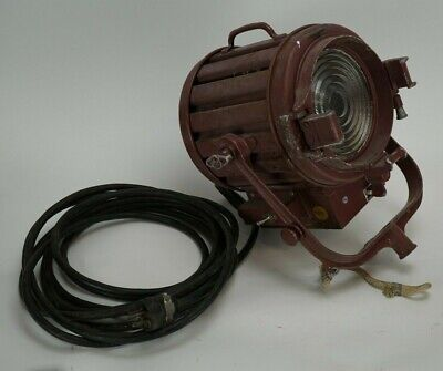 Vintage Mole-Richardson Type 407 Baby Solarspot Stage Spot Light