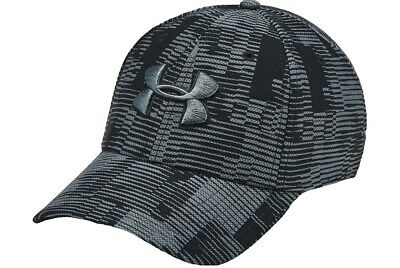 New Men's Under Armour Printed Blitzing 3.0 Baseball Cap Hat - Black