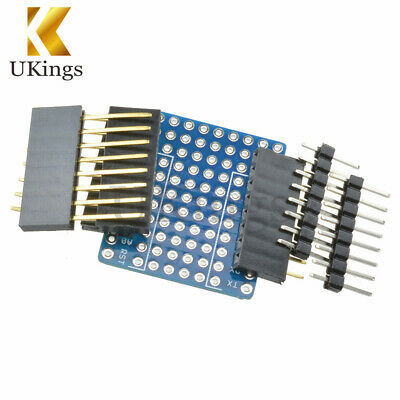 ProtoBoard Shield for WeMos D1 mini double sided perf Board Compatible Arduino