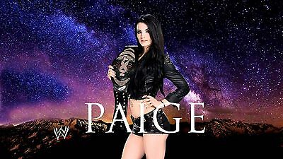 Paige WWE ( star background) 24 x 36 Poster