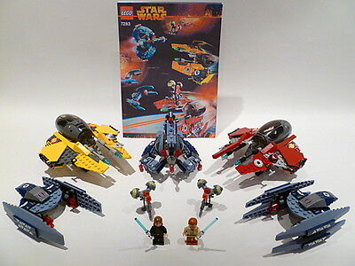 Lego Star Wars Ultimate Space Battle Set 7283 All Figs 100% Complete Guarantee