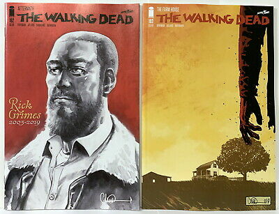 Walking Dead #192 (Commerative Isssue) & #193 (Final Issue) Nm/M B&B In Mylites
