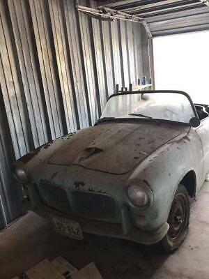 Fiat 1200 TV 1957 roadster, very rare car, completely original, missing engine!