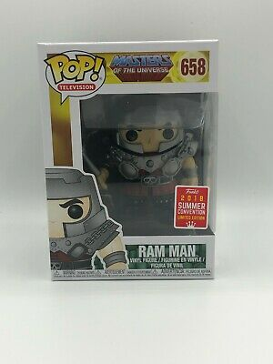 Funko Pop Television Masters of the Universe Ram Man SDCC 2018 Exclusive