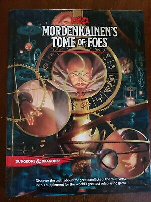 Mordenkainen's Tome of Foes 5th Edition Fifth 5.0 D&D DnD Dungeons Dragons NEW