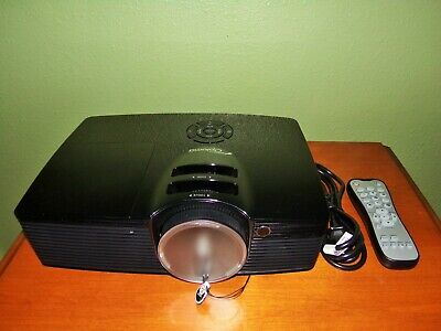 Optoma HD141X DLP Projector  Excellent Condition  777 Hours SMALL ISSUES