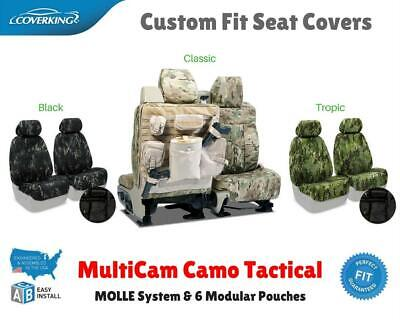 Multicam Camo Tactical Custom Fit Seat Covers for NISSAN LEAF