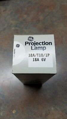 GE 18A/T10/1P Projection Lamp NIB