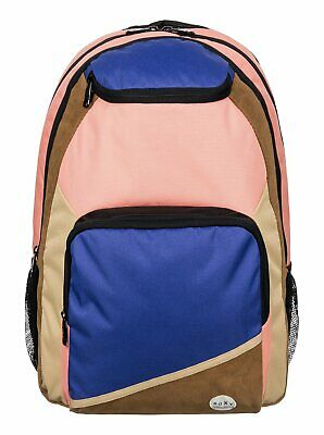 Roxy™ Shadow Swell - Color Block Backpack - Mochila - Mujer - ONE SIZE - Negro