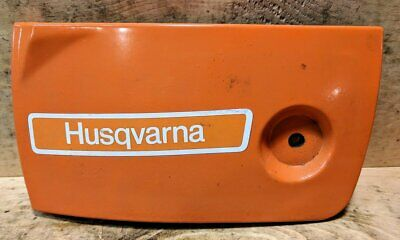 Husqvarna OEM NOS 503579301 Clutch Side Cover Chain Brake Housing Dirty