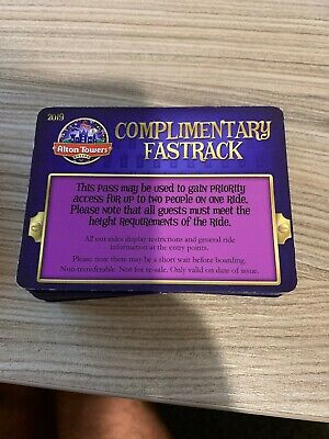 Alton Towers Priority Pass Fastrack
