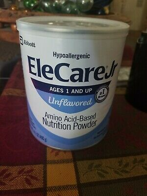 EleCare Jr. (1 and Up) Unflavored Powder w/ DHA/ARA (6 Cans) FREE SHIPPING 10/19