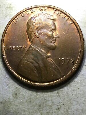 1972 DDO Lincoln Memorial Cent - Double Die Obverse #3- GEM RED!
