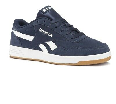 Reebok Aztec OG Suede Mens Womens Unisex Lace Up Trainers Navy BD3525 D20