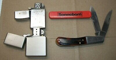 Lot Of 4 Misc. Knives & Lighters
