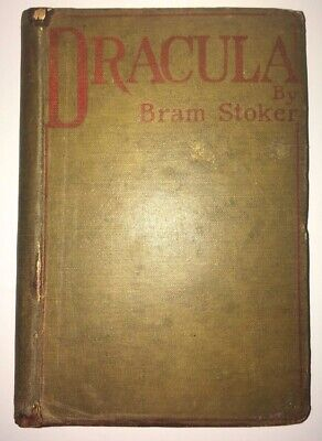 FIRST EDITION of DRACULA! by Bram Stoker. Printed in 1897.