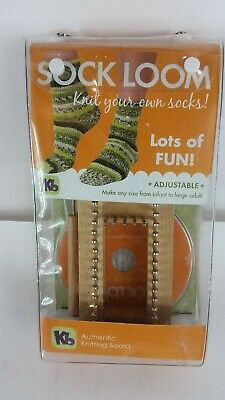 Kb fsock loom adjustable original, How to  CD Knit. infant to adult    brand new